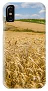 Wheat And A Tree IPhone Case