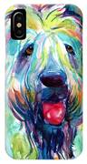 Wheaten Terrier Dog Portrait IPhone Case