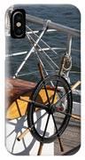Sailingship Wheel IPhone Case