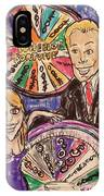 Wheel Of Fortune Pat Sajak And Vanna White IPhone Case