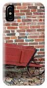 Wheelbarrow IPhone Case