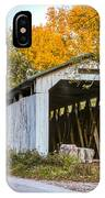 Wheeling Covered Bridge IPhone Case