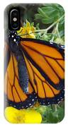 When The Rain Clears Monarch Butterfly IPhone Case