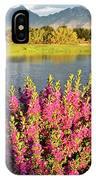 When The Rains Come In The Desert So Do The Blooms IPhone Case