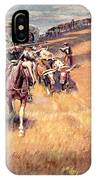 When Wagon Trails Were Dim IPhone Case