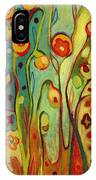 Where Does Your Garden Grow IPhone Case by Jennifer Lommers