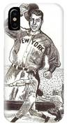 Where Have You Gone Joe Dimaggio  IPhone Case