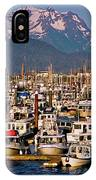 Where The Land Ends ... IPhone Case