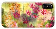 Where The Pink Flowers Grow IPhone Case