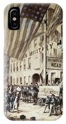Whig Party Parade, 1840 IPhone Case