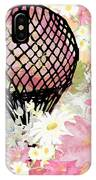 Whimsical Musing High In The Air Pink IPhone Case