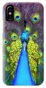 Whimsical Peacock IPhone Case