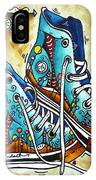 Whimsical Shoes By Madart IPhone Case