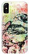 Whimsical Tit Bird IPhone Case
