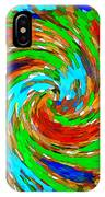 Whirlwind - Abstract Art IPhone Case