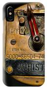 Whistle Switch IPhone Case