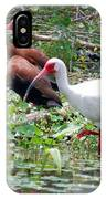 Whistler And Ibis IPhone Case