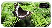 White Admiral On Tree IPhone Case