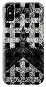 White And Black In My Hands IPhone Case