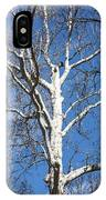 White Bark IPhone Case