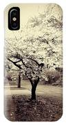 White Bloomers IPhone Case