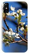 White Blooms IPhone Case