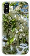 White Blossoms IPhone X Case
