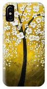 White Cherry Blossom Tree IPhone Case