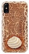 White Chocolate Swirl IPhone Case