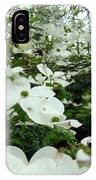 White Dogwood Flowers 6 Dogwood Tree Flowers Art Prints Baslee Troutman IPhone Case
