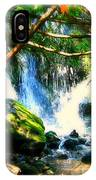 White Falls IPhone Case
