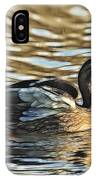 White Feathers Abstract   IPhone Case