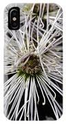 White Flora IPhone Case