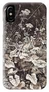 White Flowers 1877 12 3h9 Ivan Ivanovich Shishkin IPhone Case