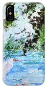 White Herons IPhone Case