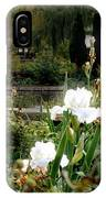 White Irises IPhone Case