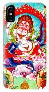 White Jambhala  2 IPhone Case