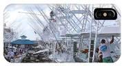 White Marlin Open Docks IPhone Case