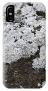 White Moss IPhone Case