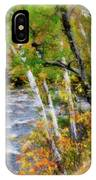White Mountains Brook IPhone Case