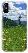 White Mountains IPhone Case