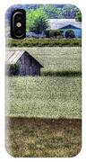 White Mustard Sheds 1584 IPhone Case