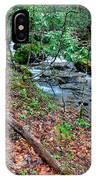 White Oak Run In Spring IPhone X Case