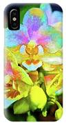 White Orchids Pastel IPhone Case
