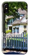 White Picket Fence IPhone Case