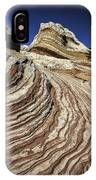 White Pockets 2376 IPhone Case