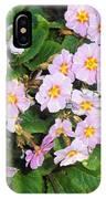 White Primroses IPhone Case