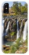 White River Falls In Tygh Valley IPhone Case