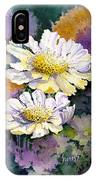 White Scabious IPhone Case
