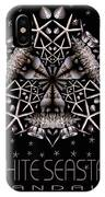White Seastar IPhone Case